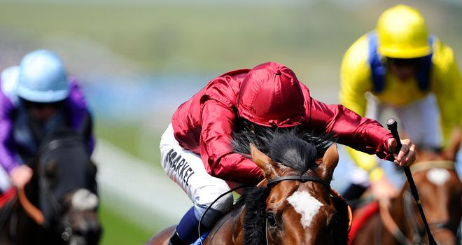 Feel Like Dancing wins the Bahrain Trophy at Newmarket