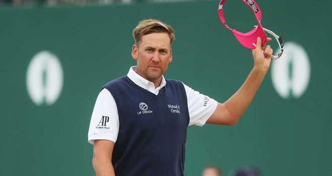 Ian Poulter: Picked up five shots in four holes
