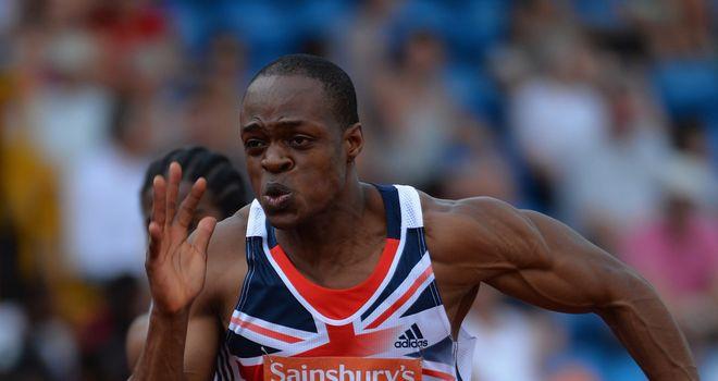 James Dasaolu: Team GB's new sprint hope