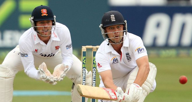 Jonathan Trott: Scored 79 against Essex on Tuesday