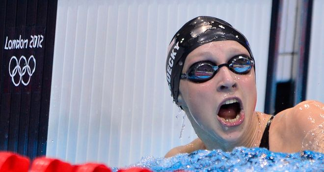 Katie Ledecky: Smashed world 1500m record