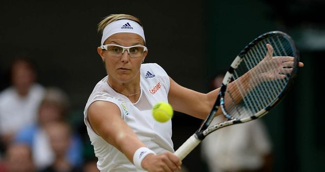 Kirsten Flipkens: Brushed her opponent aside in just an hour