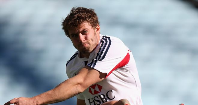 Leigh Halfpenny: Set to make his first appearance of the season against Zebre