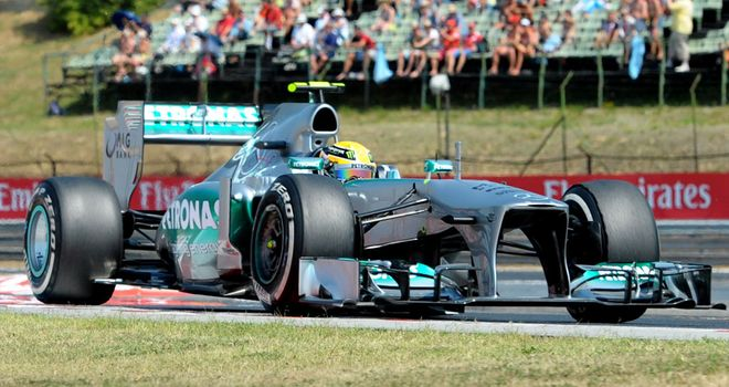 Lewis Hamilton: Claimed his first win for Mercedes in Hungary in 2013