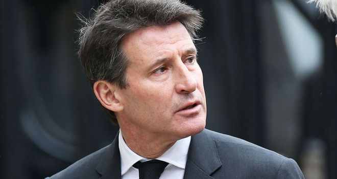 "Lord Coe: Helped select Sweeney from ""a number of outstanding candidates"""