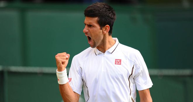 Novak Djokovic will play Tomas Berdych in the last eight