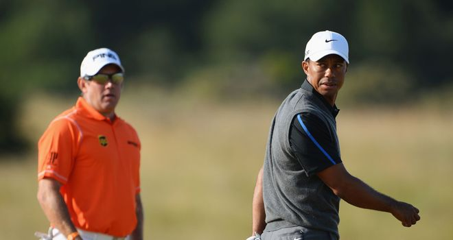 Tiger Woods will start the final round two shots behind leader Lee Westwood