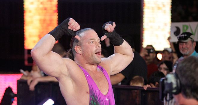 Rob Van Dam slipped to defeat against Adrian Neville on NXT