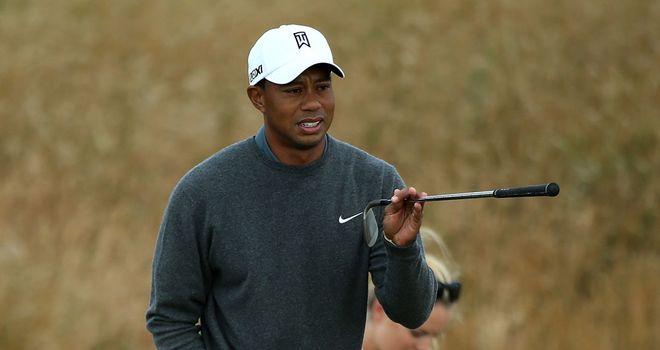 Tiger Woods: Has been paired with Graeme McDowell and Louis Oosthuizen