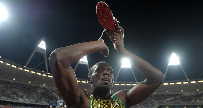 Usain Bolt: Claimed another success