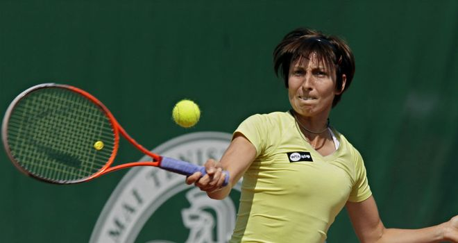 Yvonne Meusburger: The Austrian won her first WTA title on home soil