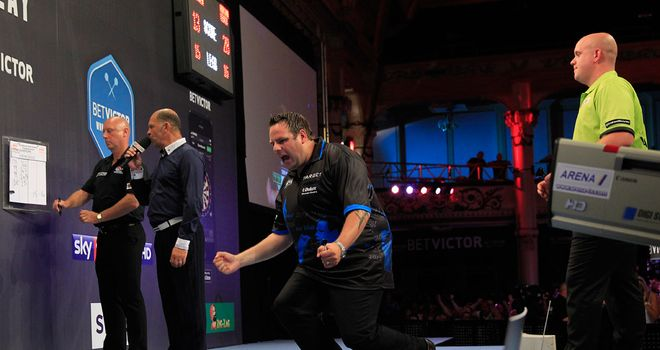 Adrian Lewis: Came up with the goods when it mattered against Andy Hamilton