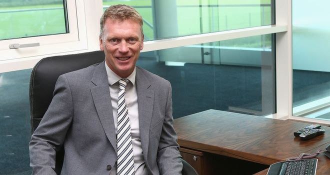 David Moyes: New Manchester United boss starts work at Carrington