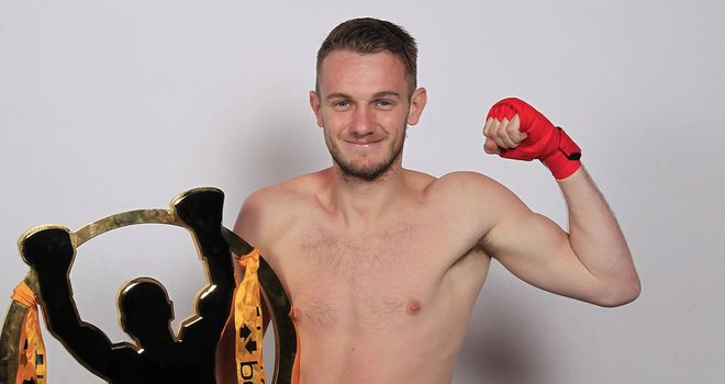 Danny Connor: Confident of victory on Saturday night (Pic Lawrence Lustig/Matchroom)