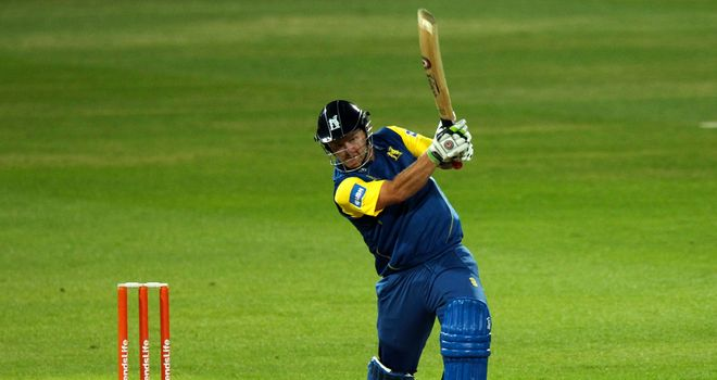 Darren Maddy: Made a useful 65 for Warwickshire at Trent Bridge