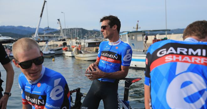 David Millar: His Garmin-Sharp squad finished sixth in the team time trial