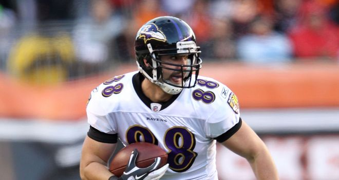 Dennis Pitta: Baltimore Ravens tight end caught seven touchdown passes last season