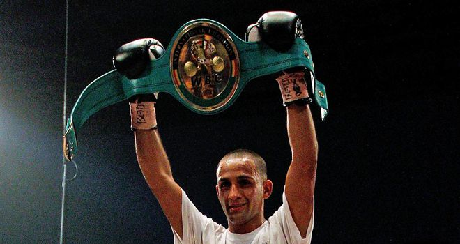 Kid Galahad: Believes he will follow in the footsteps of Naseem Hamed