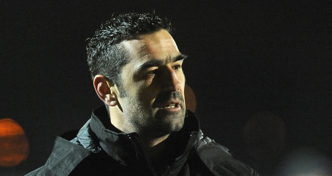 Catalan Dragons coach Laurent Frayssinous