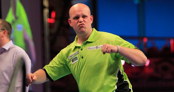 Van Gerwen: better than Taylor, argues Mardle