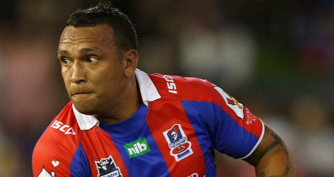 Neville Costigan: Will join Hull KR from Newcastle Knights