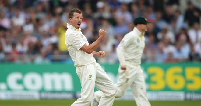 Peter Siddle: Was the star player on day one at Trent Bridge