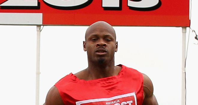 Asafa Powell: Failed doping test