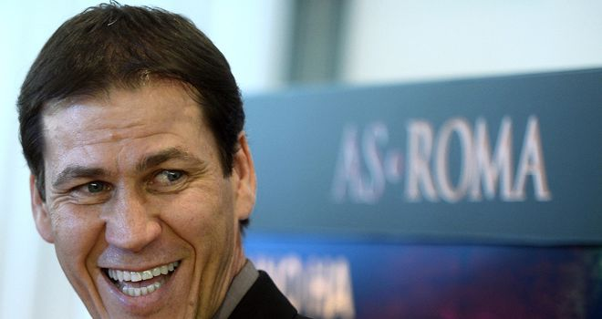 Rudi Garcia: His Roma side beat Sampdoria 1-0 on Thursday