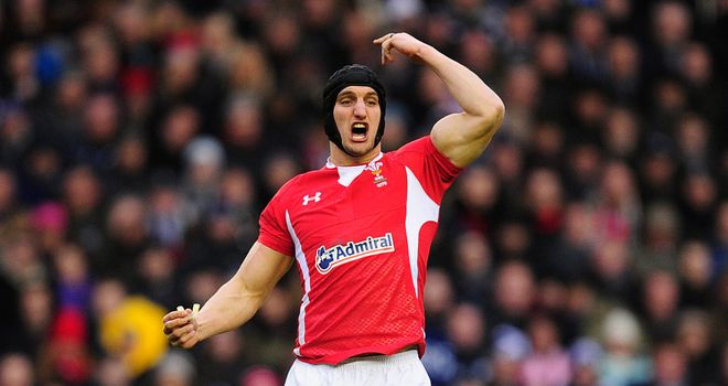 Sam Warburton: On schedule to return in October after hamstring injury