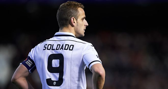 Roberto Soldado: Capable of ending Tottenham's search for a top-class striker