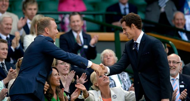 Sir Chris Hoy: Felt it was Andy Murray's destiny to win Wimbeldon on Sunday and end the nation's 77-year wait for a British champion