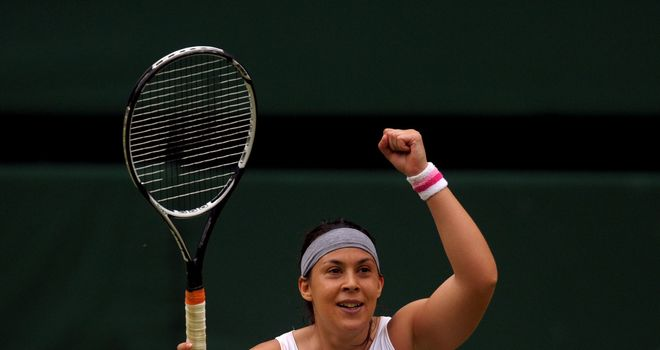 Marion Bartoli: Was in control throughout her semi-final contest on Centre Court
