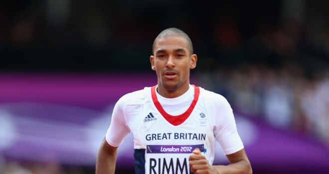 Michael Rimmer: Battling qualifying effort from British 800m runner