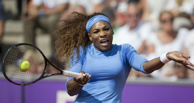 Serena Williams: Made comfortable progress in first round in Sweden