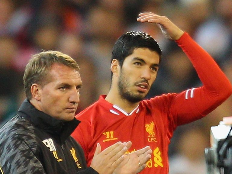 Rodgers: Doesn't expect Suarez to leave now