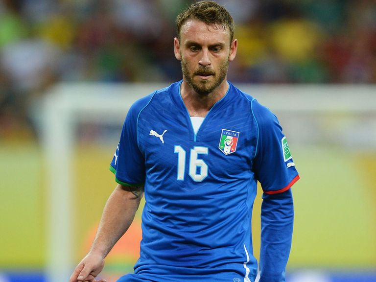 Daniele De Rossi: Left out of Italy setup