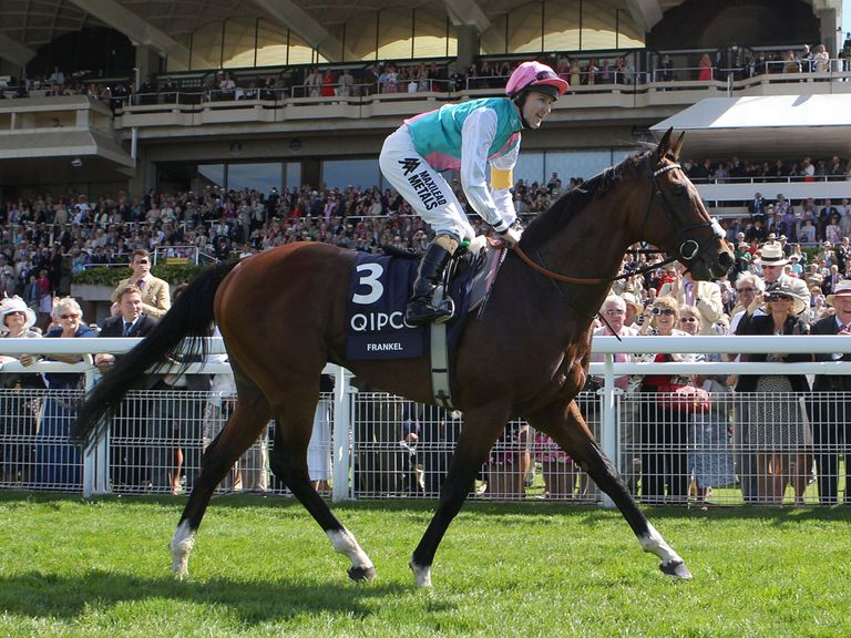Frankel: First goal born at stud in Ireland