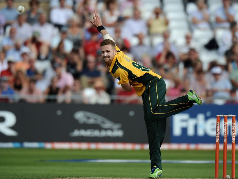 Graeme White: Took five for 22 for Notts