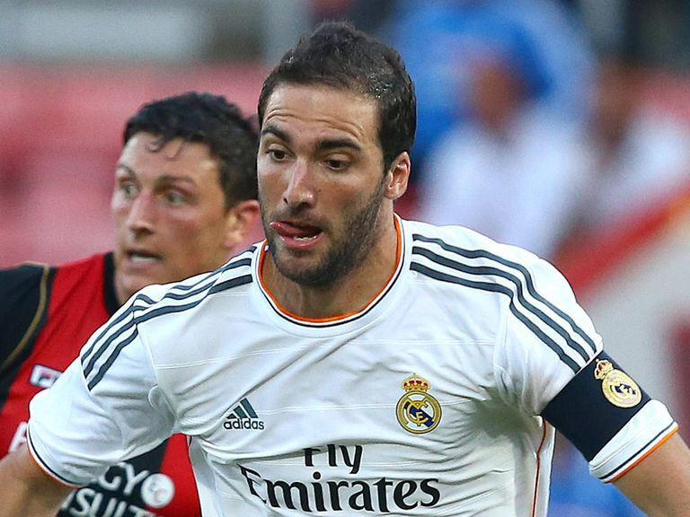 Gonzalo Higuain: Will be presented as a Napoli player on Monday, along with Jose Reina
