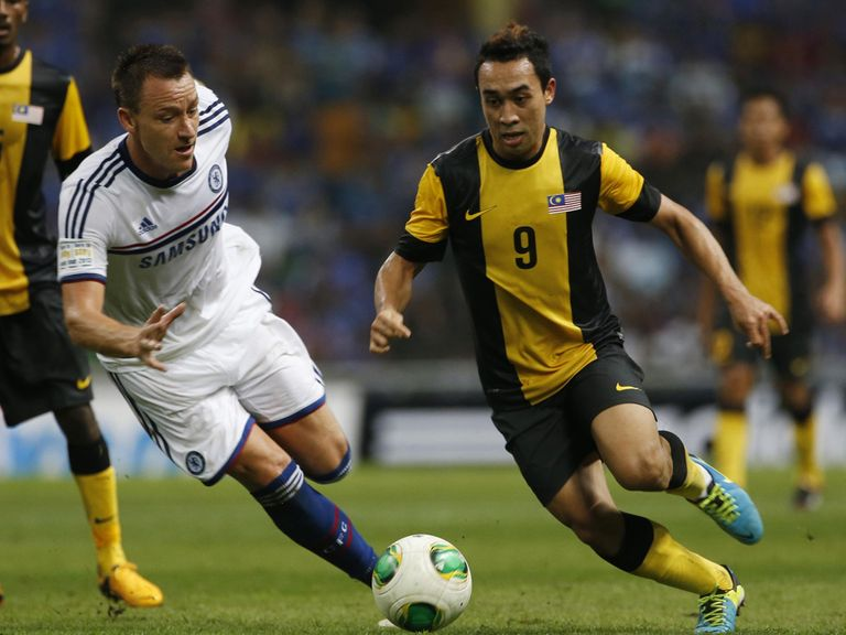 John Terry: Part of side which beat Malaysian XI