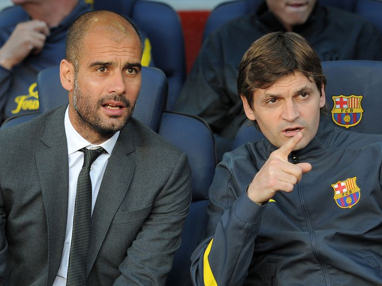 Guardiola was replaced by Vilanova last summer