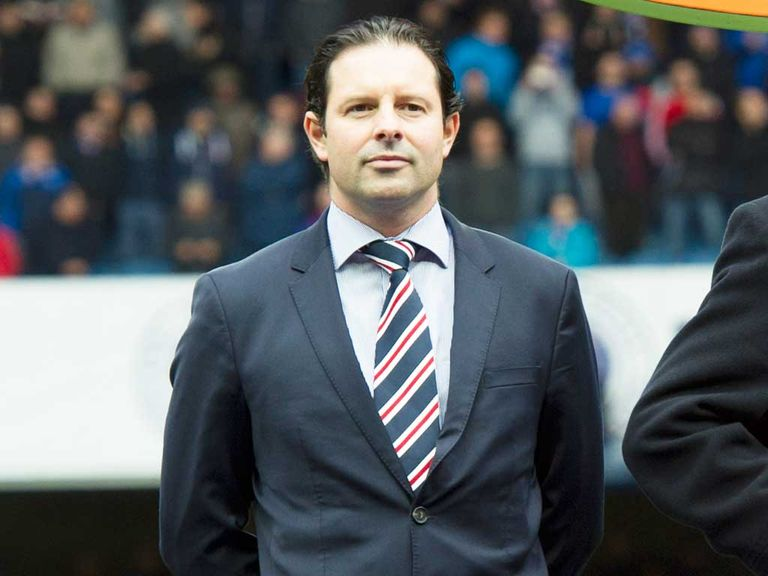 Mather: Has now left Rangers