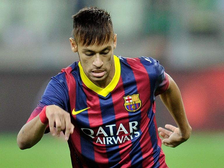Neymar: Joined Barcelona this summer