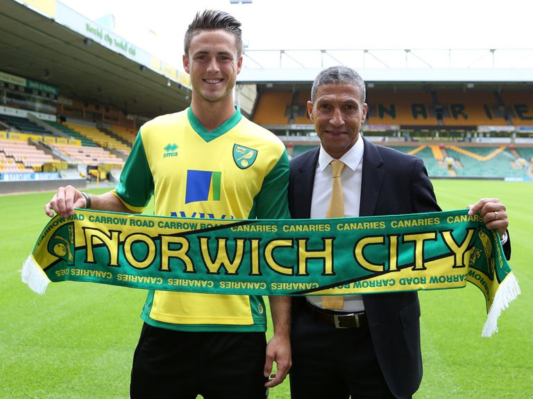 Hughton: Pleased with his £8.5m signing