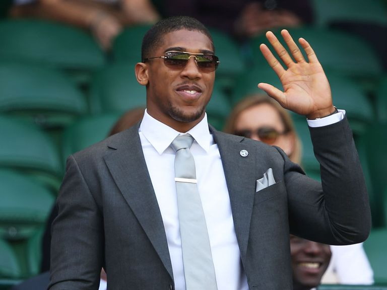Anthony Joshua: Set to turn professional this week