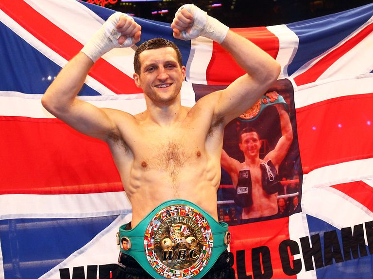 Froch: Tackles Groves in November