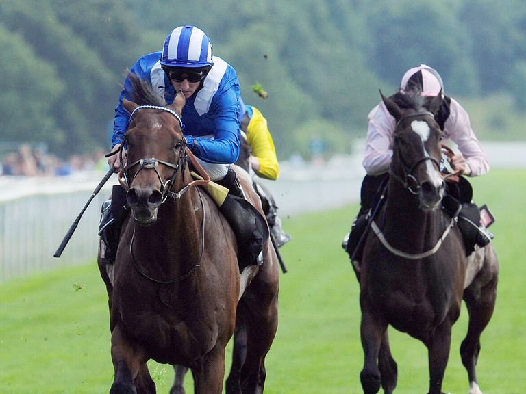 Mukhadram: Taken to win the Champion Stakes