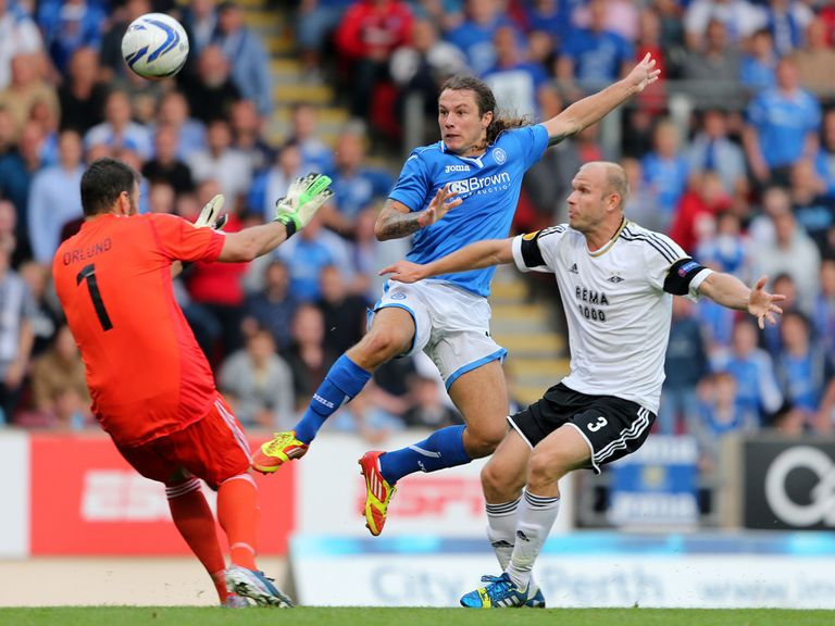 Stevie May: Good start to the season for St Johnstone