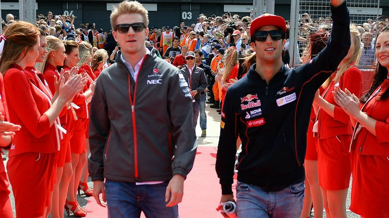 Could both Hulkenberg and Ricciardo be moving up the grid in 2014?
