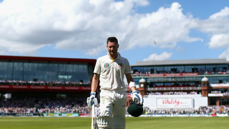 Michael Clarke: A centurion at Old Trafford